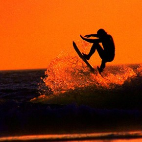 Being a retired pro surfer sounds almost as fun...and as risky...as being a pro surfer