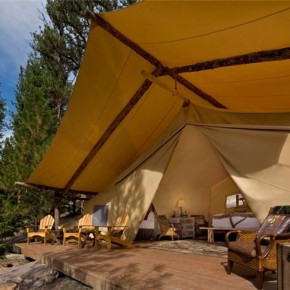 Glamping sites trending more toward glam than camping
