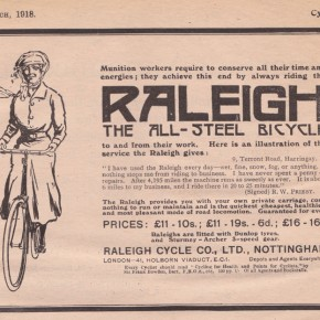Raleigh is now a Dutch brand