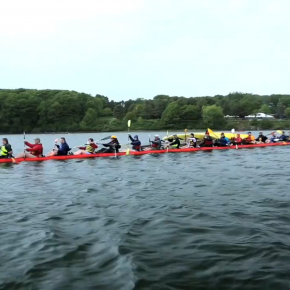 L.L. Bean's 100-person kayak is ridiculous and splendid